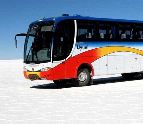 Todo Turismo Bus La Paz to Uyuni Round Trip