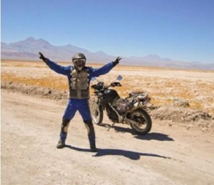 Cactus & Machuca Motorcycle Tour Half Day - San Pedro de Atacama