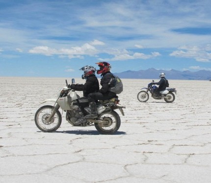 Uyuni Salt Flats 2-Day Motorcycle Tour