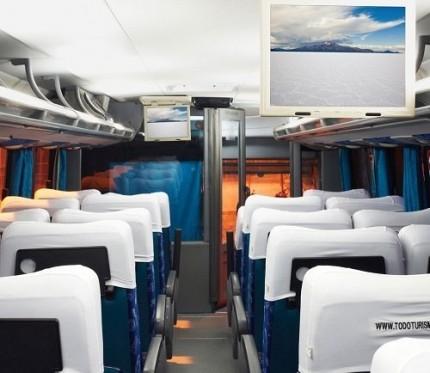 Todo Turismo Bus Uyuni to La Paz (Salar de Uyuni to La Paz)