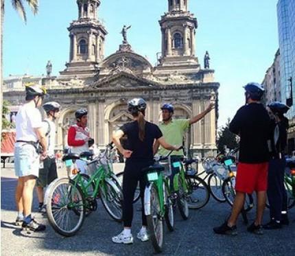 City Tour Half Day by Bike - Santiago de Chile