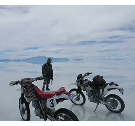 Uyuni Salt Flats 1-Day Motorcycle Tour