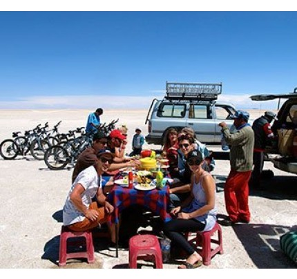 Quechua Connection Salt Flats Tour Uyuni - 3 Days + Transfer to Chile