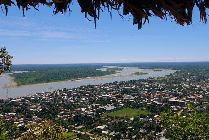 Rurrenabaque Town Bolivia Amazon