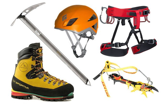 Climbing Equipment For Huayna Potosi Tours