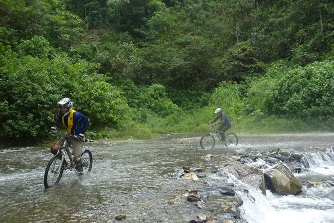 Rainy Season Death Road Bolivia