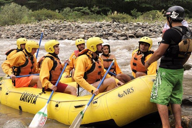 Inca Jungle Tour Rafting Peru