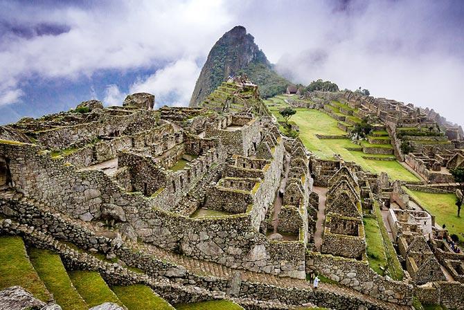 Machu Picchu Inca Site Cusco Peru